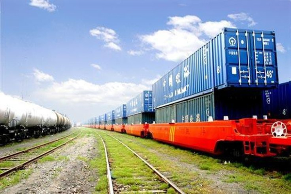 Новый грузовой жд-поезд на маршруте Китай-Иран